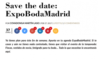 ExpobodaMadrid en Lucia se casa punto com